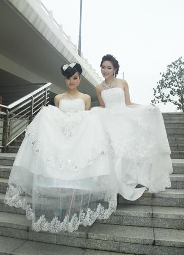 欢欢影楼新娘造型作品