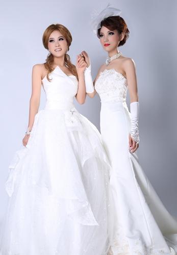 刘静影楼新娘造型作品