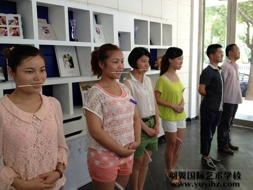 人物形象设计专业学员刘萍